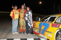 Duane & Theressa Stade with Driver Josh Stade