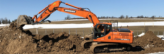 Full Excavation and Site Servicing