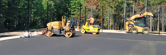 Tennis Court Construction and Paving